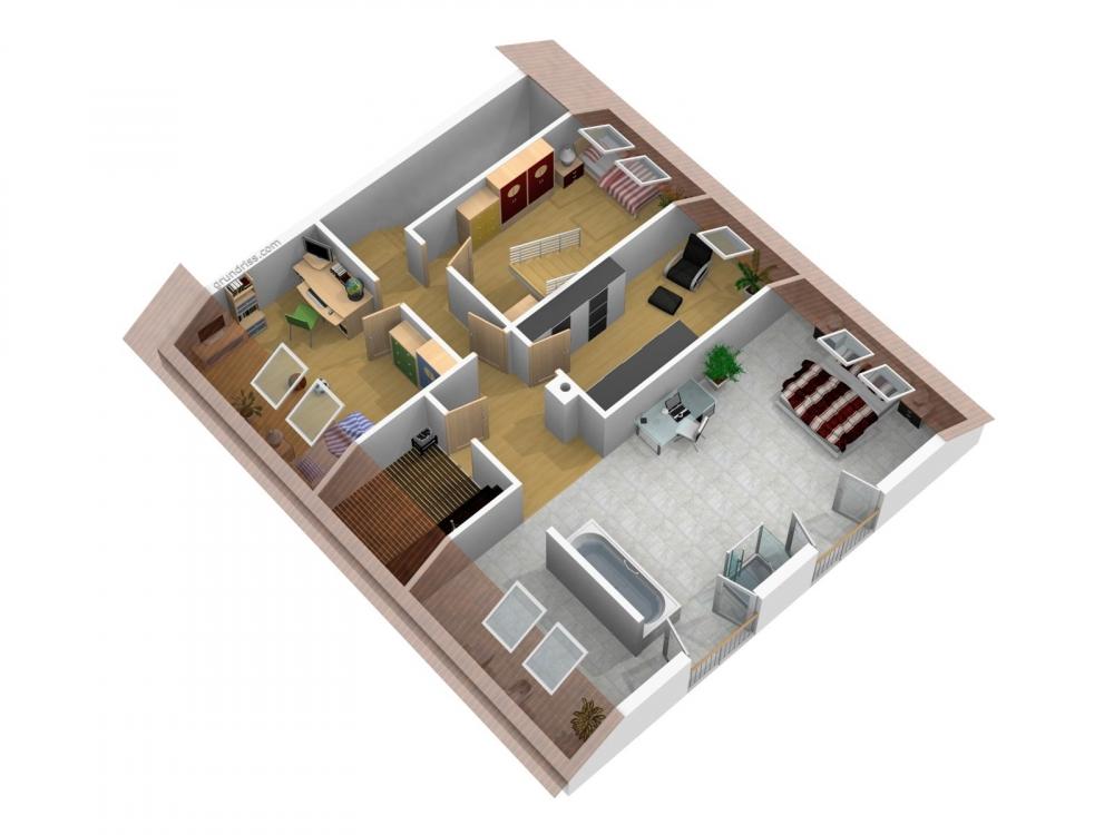 Alternative 2 Kinderzimmer