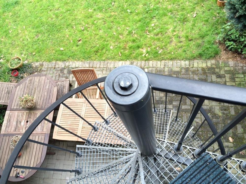 Treppenaufgang vor Haus