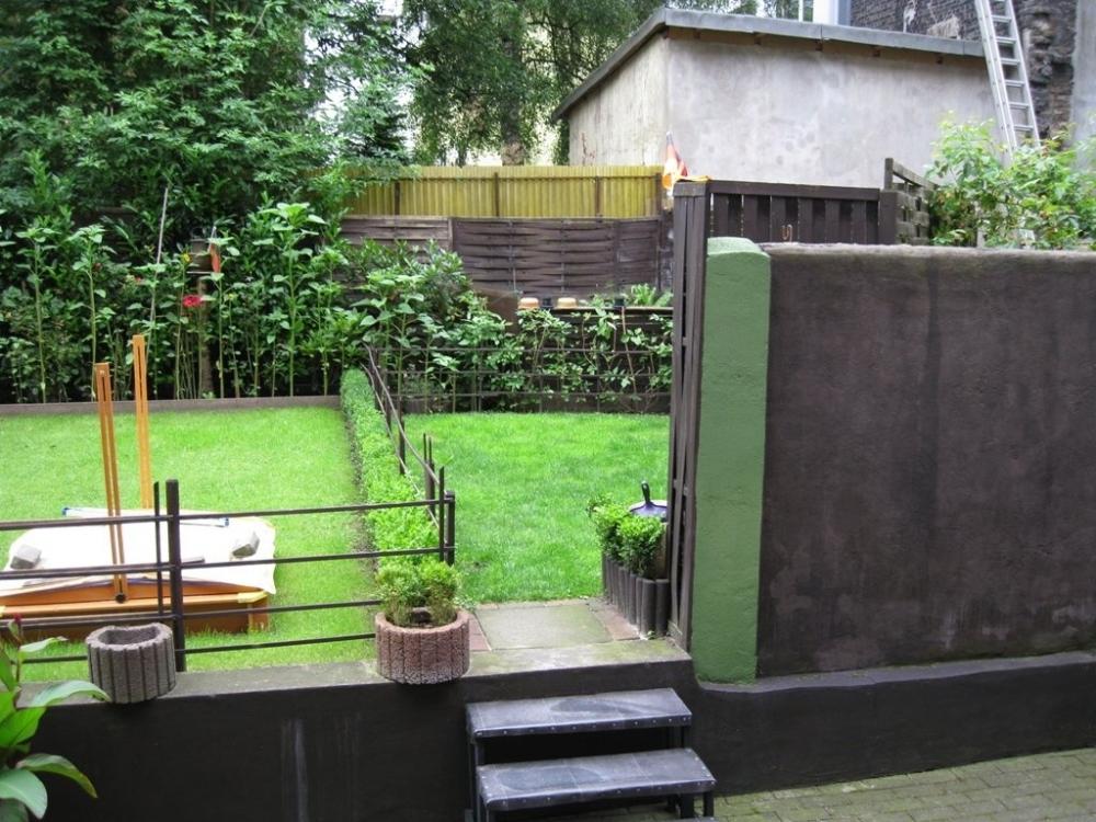 Garten für den Mieter im EG