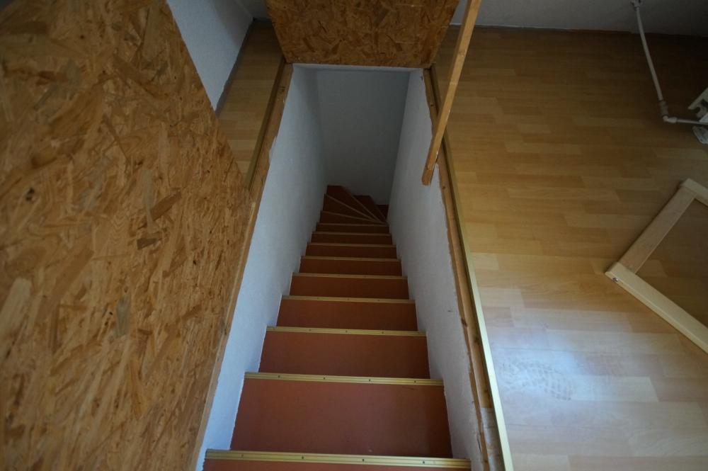 Treppen Spitzboden