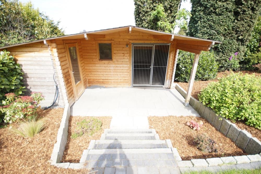 Gartenhaus als Hundezwinger