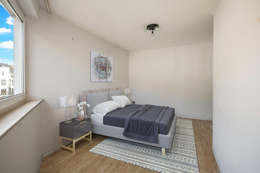 Renovierungsbeispiel Schlafzimmer