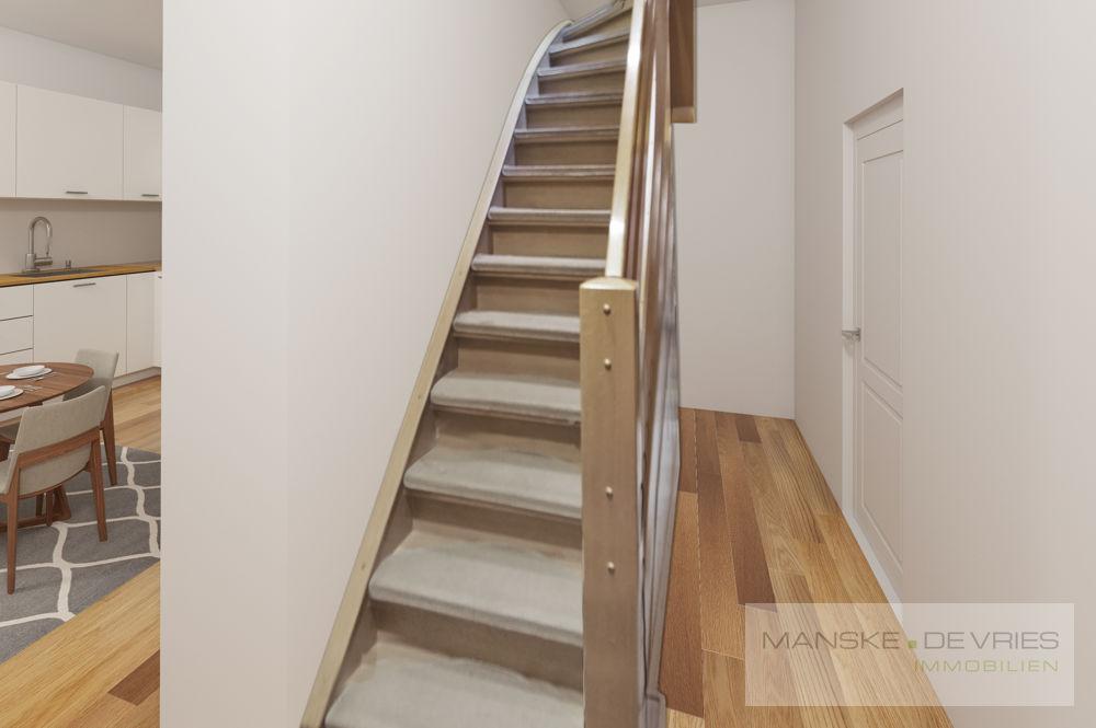 Renovierungsbeispiel Treppenaufgang