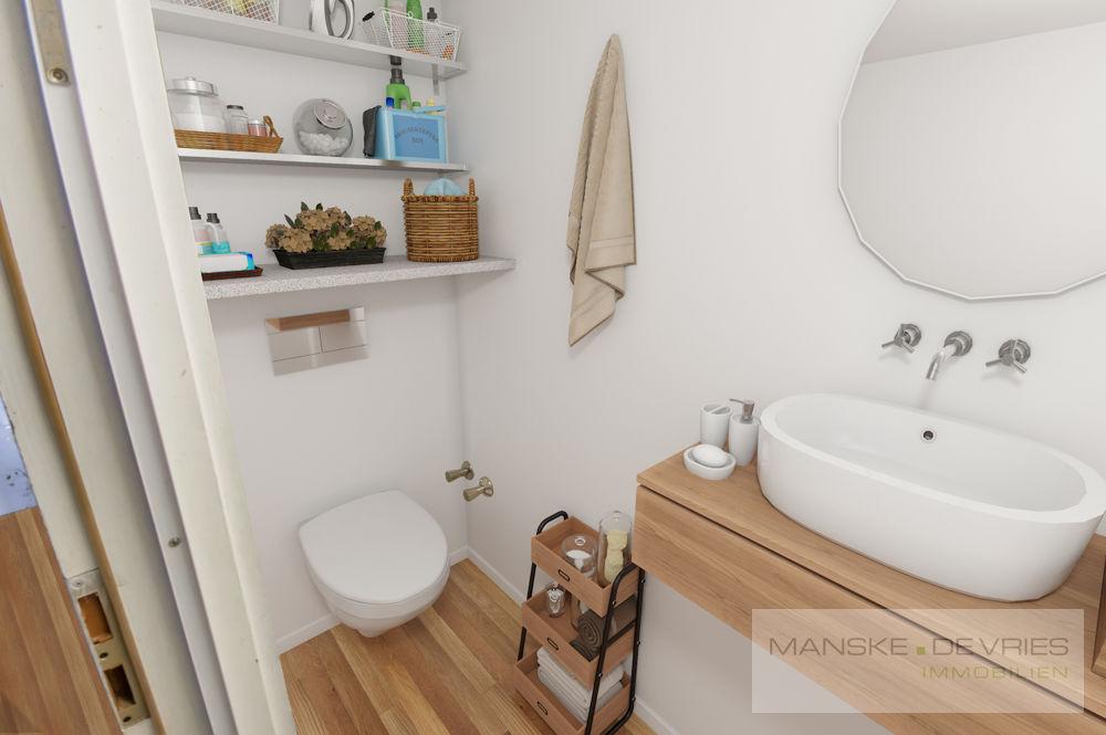 Renovierungsbeispiel Badezimmer