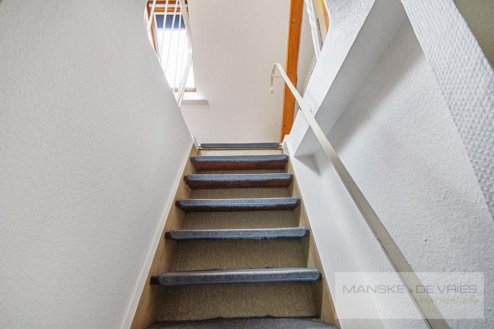 Treppe in Spitzboden