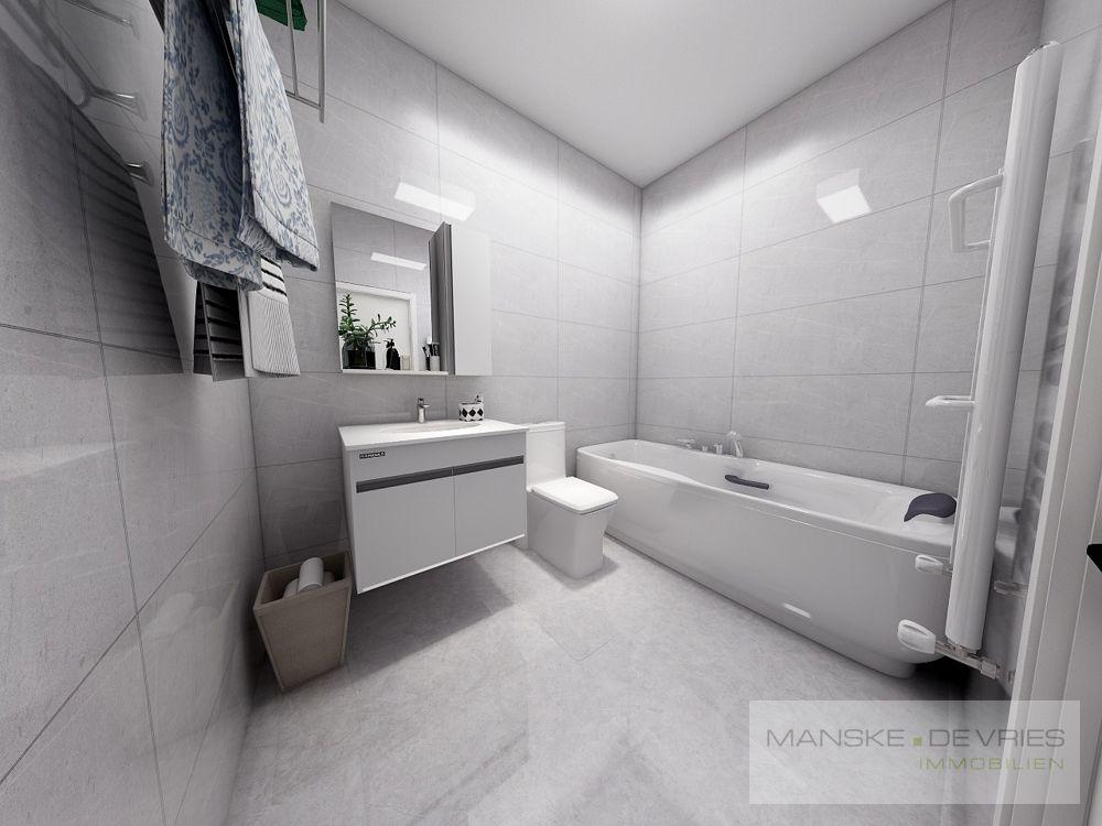 Badezimmer Renovierungsbeispiel