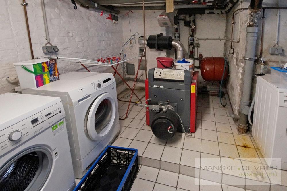 Heizung und Waschkeller