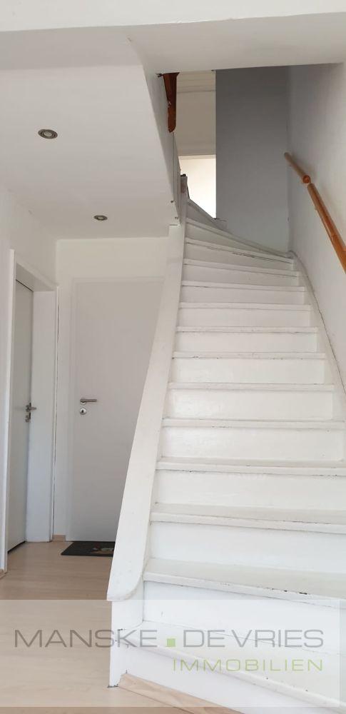 Treppenaufgang Mietwohnung