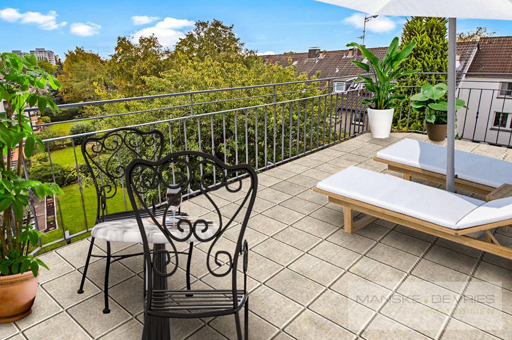Balkon Renovierungsbeispiel