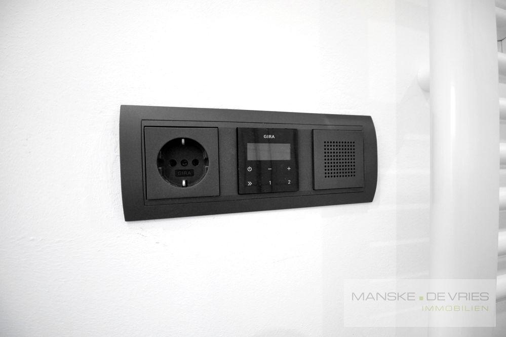 Radio im Badezimmer