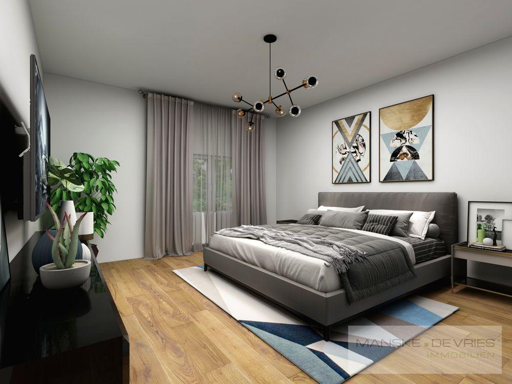 Schlafzimmer OG Renovierungsbeispiel