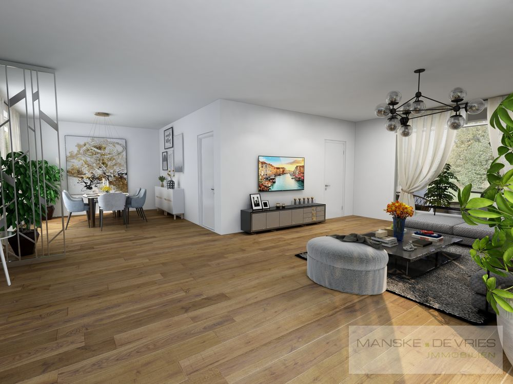 Wohnzimmer Renovierungsbeispiel