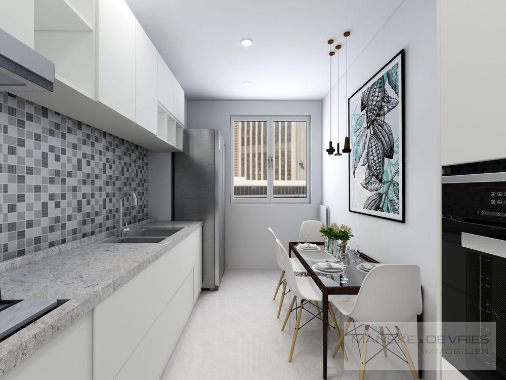 Küche Renovierungsbeispiel