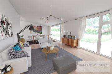Freistehendes Einfamilienhaus mit 2 Garagen in ruhiger Wohnsiedlung in Mönchengladbach-Wickrath, 41189 Mönchengladbach, Einfamilienhaus