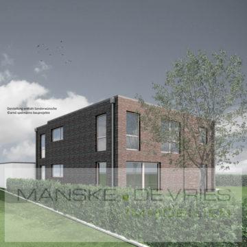 Endlich Platz für die Familie – Neubau eines Zweifamilienhauses, 46487 Wesel, Zweifamilienhaus